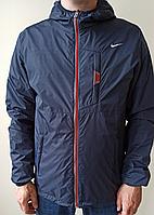 Ветровка Nike синяя с красным