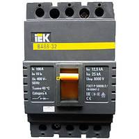 Автоматический выключатель ВА88-32 100А 3р IEK, фото 1