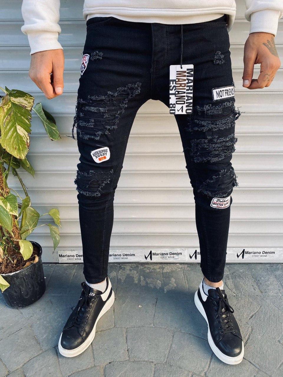 Мужские джинсы Mariano 323 black