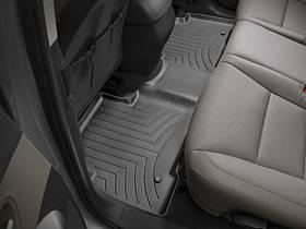 Ковры резиновые WeatherTech Hyundai Santa Fe 2013-2018  задний черный (5-ти местная )