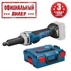 Аккумуляторная прямая шлифмашина Bosch GGS 18V-23 PLC Professional (Без АКБ  и ЗУ)