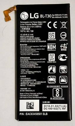 """Акумулятор """"Original"""" для LG X Power 2/K10 Power (BL-T30) 4500mAh, фото 2"""
