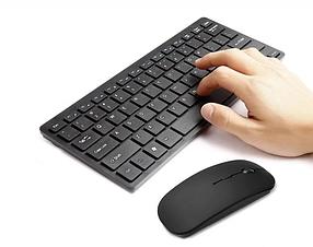 Комплект беспроводная клавиатура + мышка для персонального компьютера WIRELESS K03