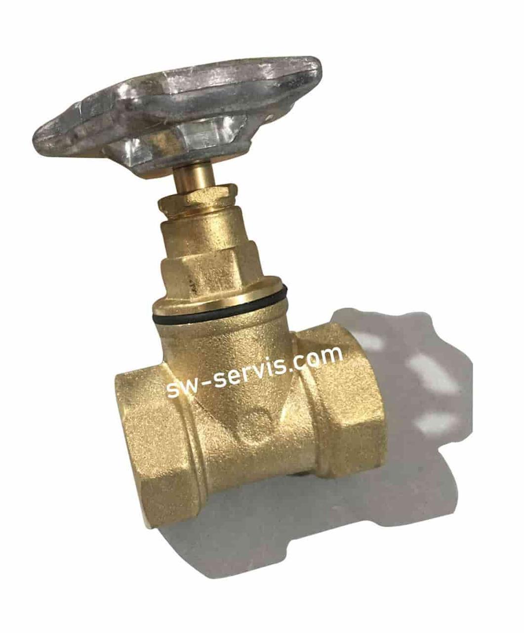 Латунний запірний клапан 50 мм посилений