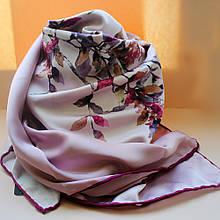 Вишуканий жіночий хустку з квітковим візерунком SINEM рожевий