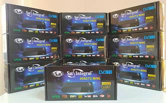 Цифровой эфирный тюнер приставка DVB-T2 ресивер Sat-Integral 5052 T2 MINI