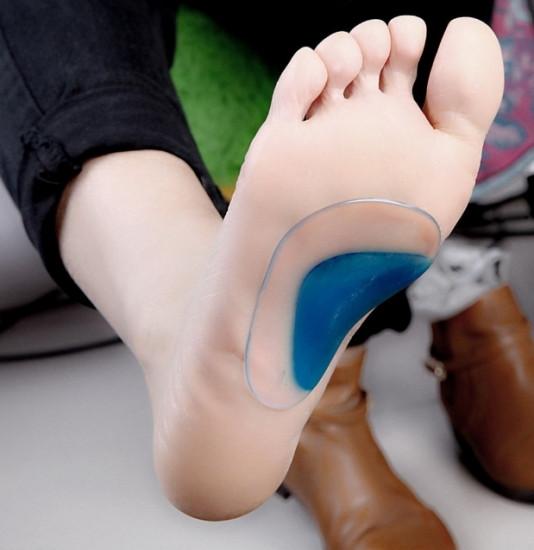 Ортопедические силиконовые вставки для обуви