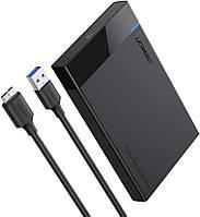 """Внешний корпус Ugreen карман для жесткого диска 2.5"""" USB 3.0 to SATA HDD SDD (30848)"""
