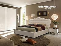 Двухспальные кровати Люкс ВЕНЕЦИЯ без матраса с ящиком для белья, фото 1