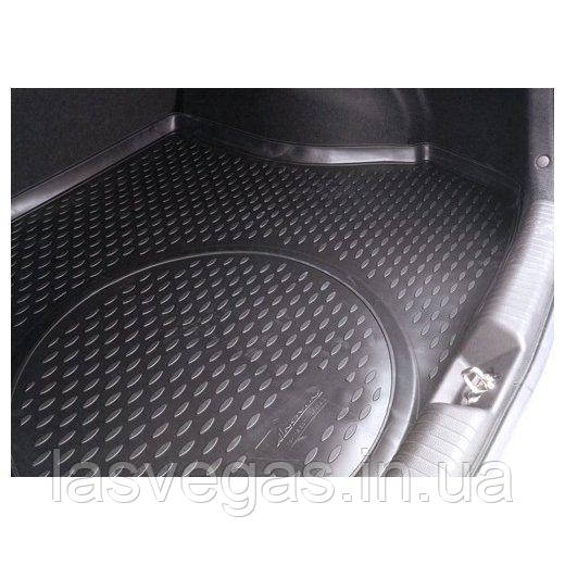 Коврик в багажник  KIA Cerato 2013- сед. (полиуретан)