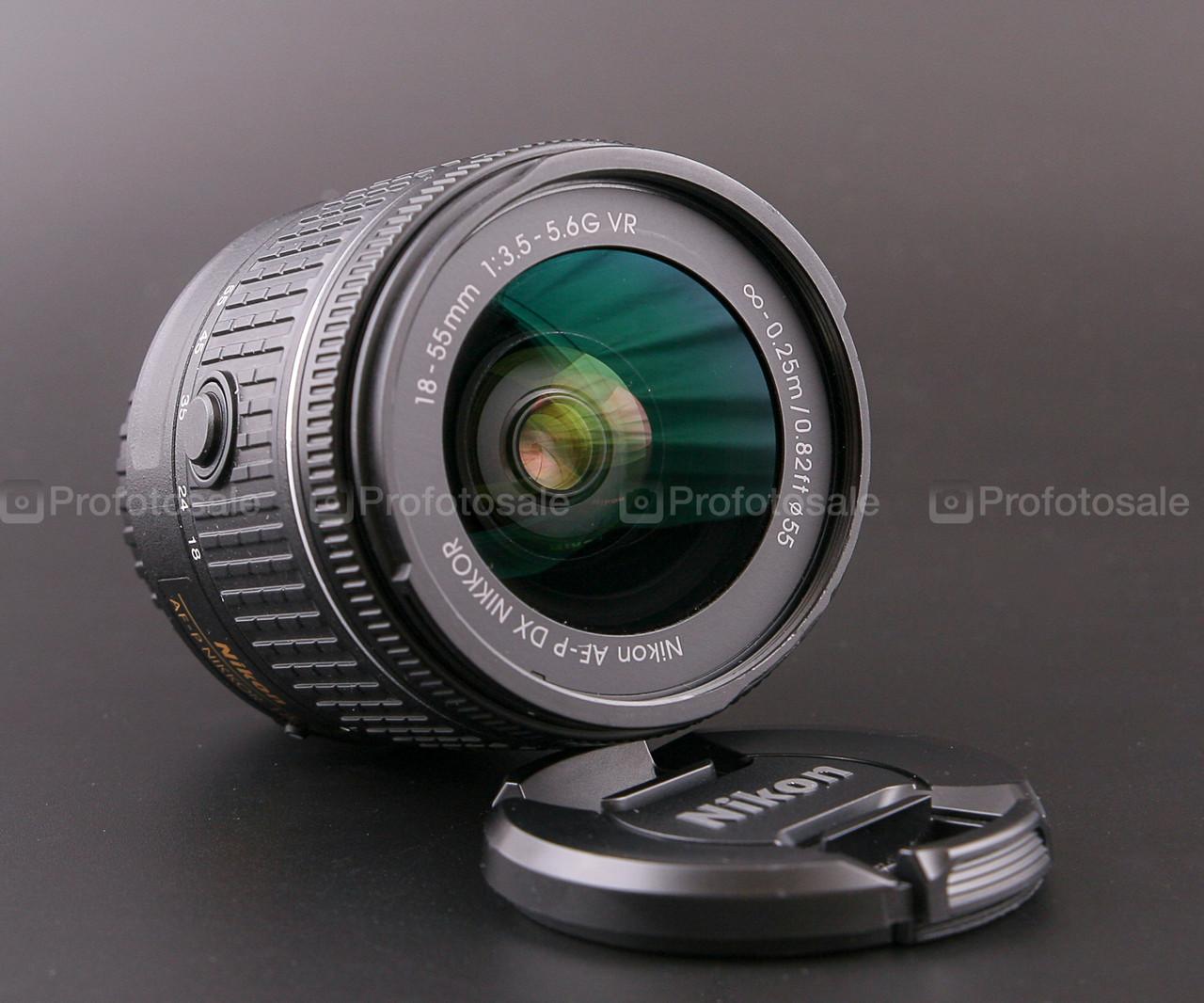 Nikon AF-P Nikkor 18-55mm f3.5-5.6 G