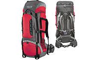 Рюкзак туристический Terra Incognita Mountain 65 красный с серым цвет
