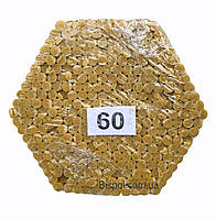 Восковые церковные свечи №60 - 300 шт/пачка. Диаметр - 6,5 мм. Высота - 20 см.