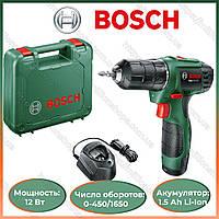 Шуруповерт Bosch EasyDrill 1200 PBA. Аккумуляторная дрель-шуруповерт Bosch/ Бош.