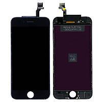 Дисплей для iPhone 6s, черный, с сенсорным экраном, с рамкой, HD (original backlight)