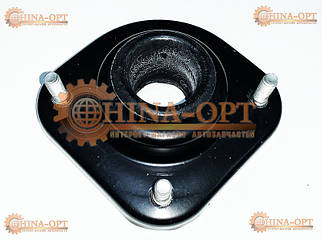 Опора верхня переднього амортизатора, метал + гумка, в зборі
