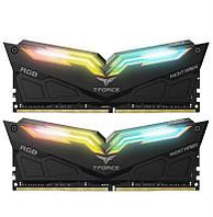 Модуль памяти DDR4 2x8GB/4000 Team T-Force Night Hawk RGB Black (TF1D416G4000HC18JDC01)