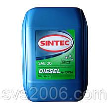 Масло моторне SINTEC, М-10Г2к, Дизеленыйь API CC, 10л, хв