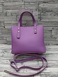 Женская стильная сумка эко-кожа Зара Zara. В расцветках., фото 3