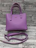 Женская стильная сумка эко-кожа Зара Zara. В расцветках., фото 2