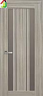 Дверь межкомнатная Новый стиль Верона С2 ПВХ Итальяно жемчуг магика стекло BR