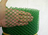 Забор садовый пластиковый 1х20м с ячейкой 10х10мм. заборная сетка.