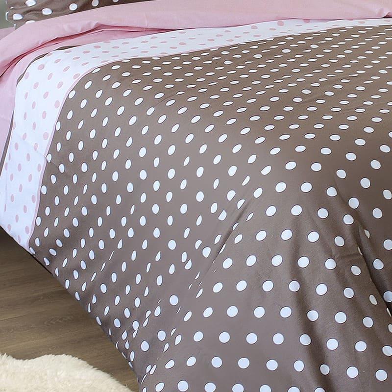 Комплект постельного белья от украинского производителя бязь  Конфети Семейный