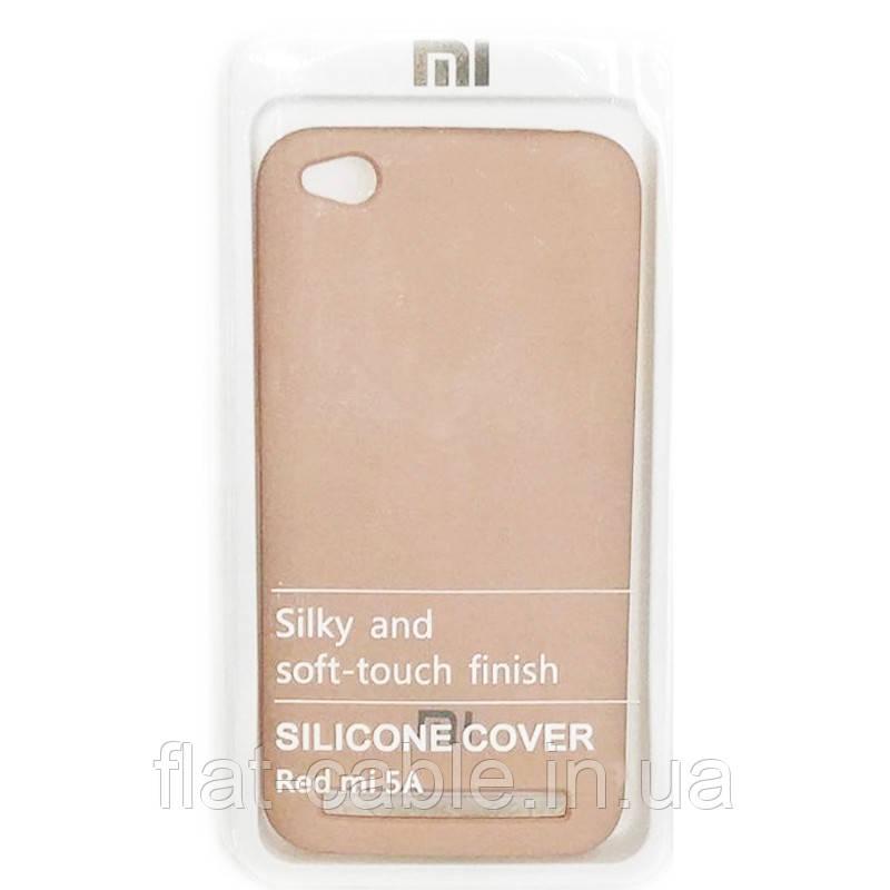 Чехол на Xiaomi Redmi 5A (Pink Sand) Silicone Case