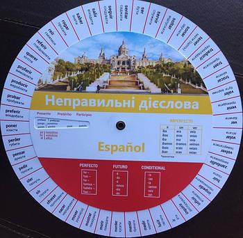 Неправильні дієслова. Диск. Іспанська мова