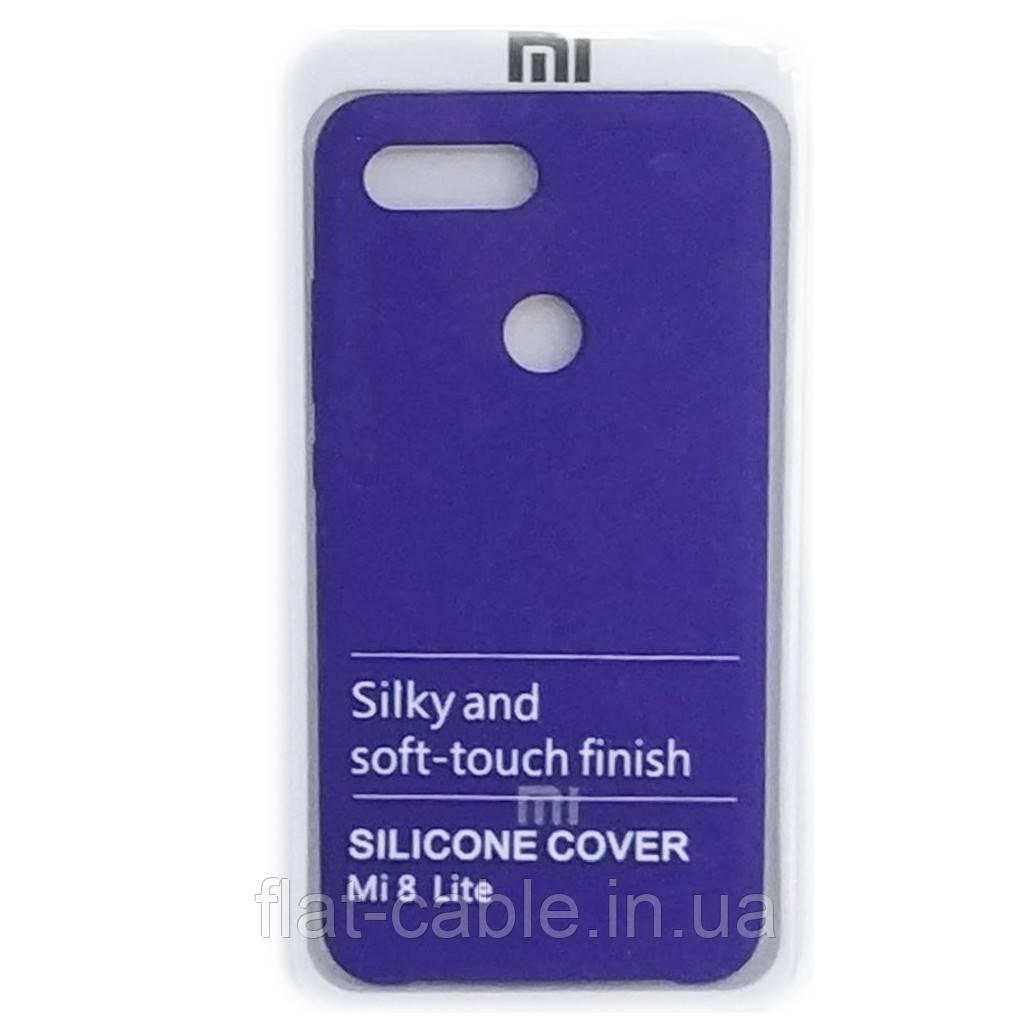 Чехол на Xiaomi Redmi Mi 8 Lite (Ultra Violet) Silicone Case