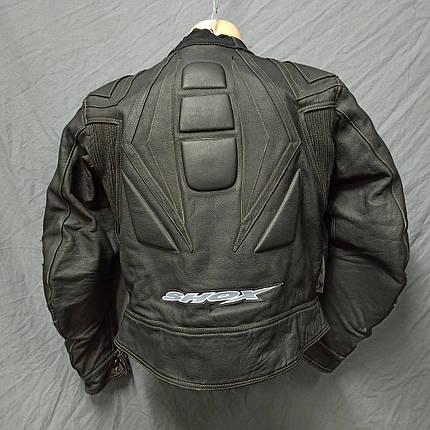 Мотокуртка SHOX б/у кожа, фото 2