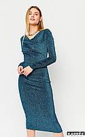 Платье Теона - Бирюза