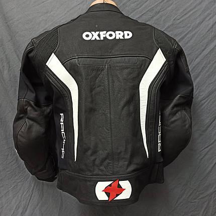 Мотокуртка OXFORD б/у кожа, фото 2