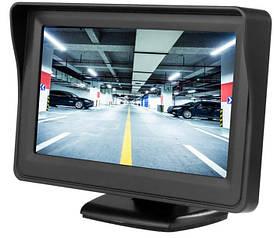 Автомонитор LCD 4.3'' для двух камер