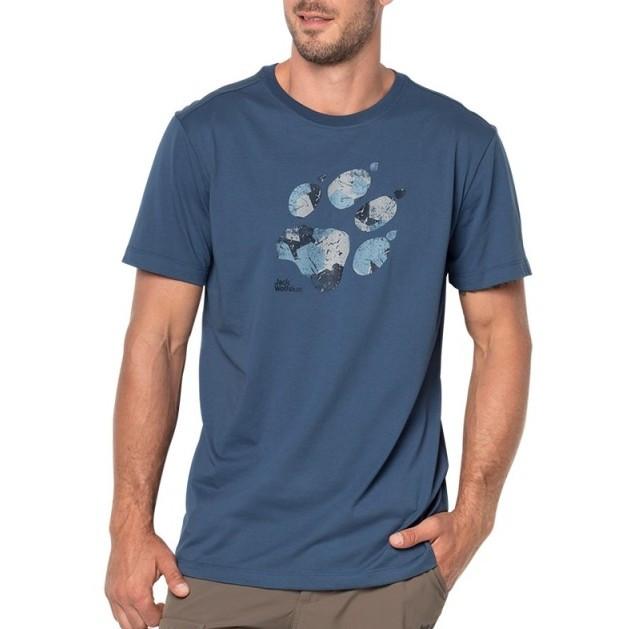 Мужская футболка Jack Wolfskin Marble Paw T