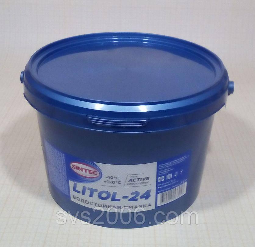 Смазка SINTEC, Литол-24, 18кг
