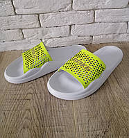 Летние шлепки женские кожаные    36-41 желтый