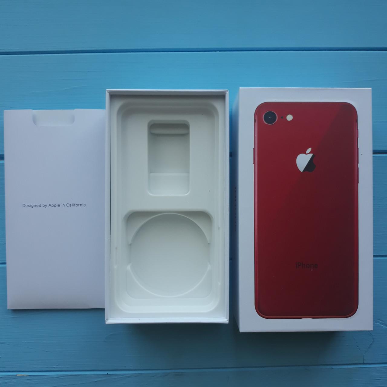Коробка Apple iPhone 8 Red