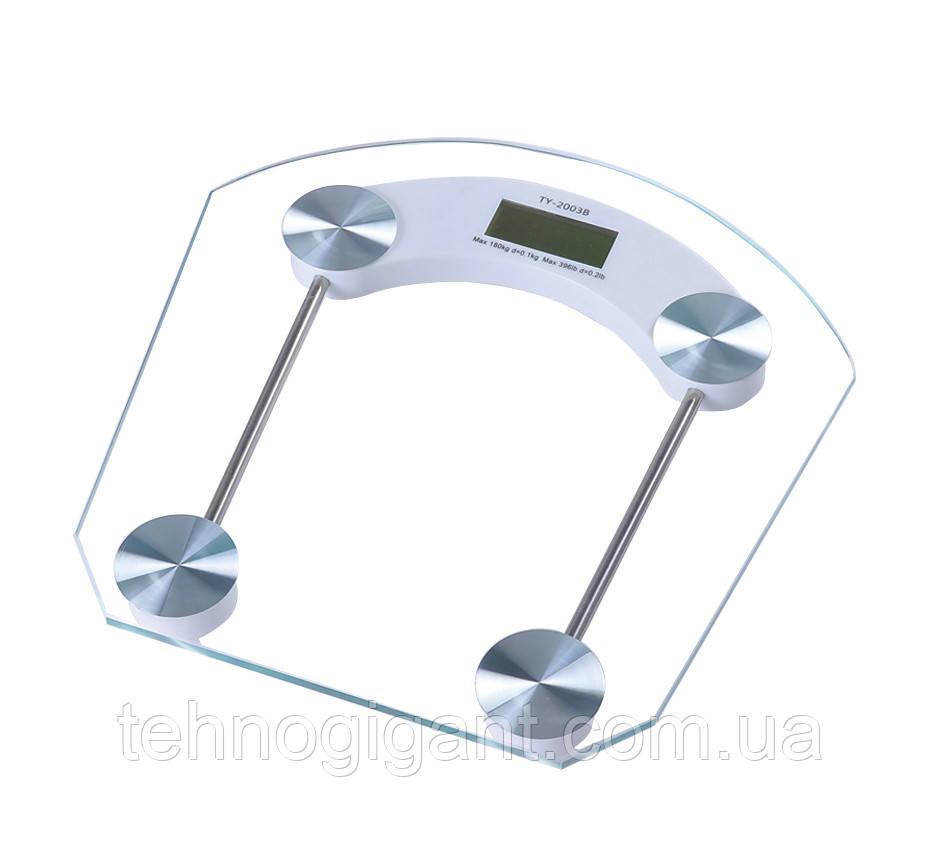 Электронные напольные весы, стеклянные, до 180 кг Opera OP-200B