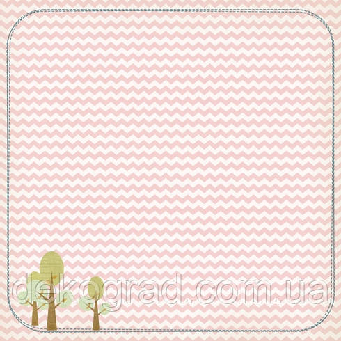 Бумага для скрапбукинга «Фантазия Волшебство», 30,5х30,5 см