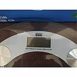 Электронные напольные весы, стеклянные, до 180 кг Opera OP-200B, фото 4