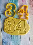 Формочки для пряников, вырубки Цифры №14, фото 4
