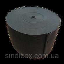 Широкая бельевая резинка для одежды Sindtex черная 10 см х 22,5 м (СИНДТЕКС-0076)