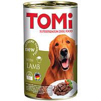 Консервы TOMi Dog Lamb (ягненок в соусе) 1200 г, фото 1