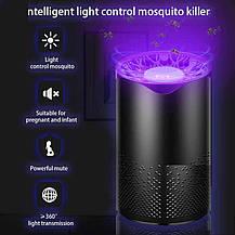 Світильник від комарів 5W 110-240V USB+адаптер PP, фото 2