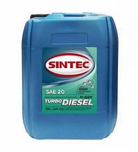 Масло моторне SINTEC, М-8ДМ, Турбо Дизеленыйь API CD, 10л, хв
