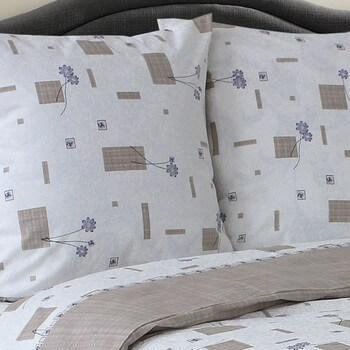 Комплект постельного белья от украинского производителя бязь  Флор Семейный