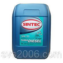 Масло моторне SINTEC, М-10ДМ, Турбо Дизеленыйь API CD, 10л, хв