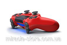 Беспроводной геймпад джойстик PlayStation Dualshock 4 V2 Bluetooth PS4 красный, фото 2