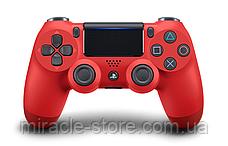 Беспроводной геймпад джойстик PlayStation Dualshock 4 V2 Bluetooth PS4 красный, фото 3